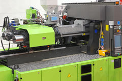 Injection moulding machine Royalty Free Stock Photo