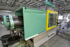 Injection Moulding Machine Royalty Free Stock Photos