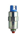 Injection pump solenoid. For diesel engine Stock Photography