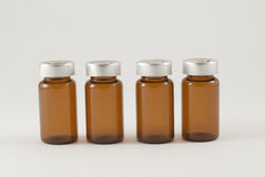 Injection vials Stock Image