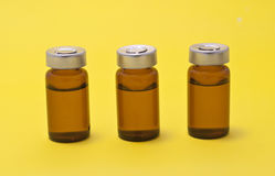 Injection vials Stock Photography