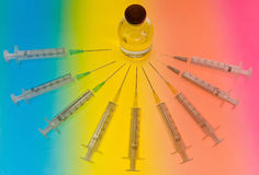 Injections Images stock