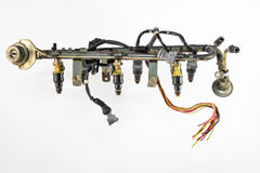 Injecton engine Stock Photo