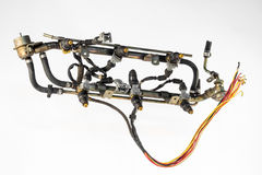 Injecton engine Stock Image