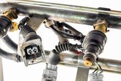 Injecton engine Stock Photos