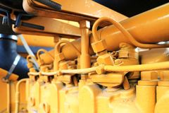 Free Injector System Of Diesel Engine Stock Images - 117841994