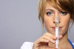 injektion Fotografering för Bildbyråer