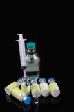 injektionläkarundersökningprodukter Arkivfoton