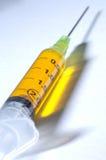 injektionsspruta Arkivbilder