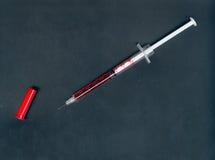 injektionsspruta Royaltyfri Fotografi