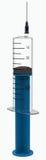 Injektionsspruta 50 milliliter Royaltyfria Foton