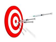 injektionssprutor Fotografering för Bildbyråer