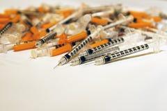 injektionssprutor Royaltyfri Bild
