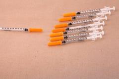 Injektionssprutor Royaltyfri Foto
