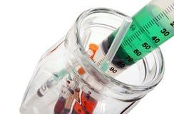 injektionssprutor Royaltyfri Fotografi