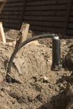 Injektorsystem der automatischen Bewässerung Lizenzfreies Stockbild