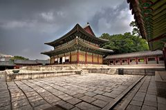 The Injeongjeon Hall in Changdeogung Royalty Free Stock Image