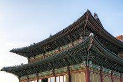 Injeongjeon Hall w Changdeokgung zdjęcie stock