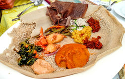 Injera Stock Photography