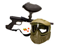 Injetor do Paintball - recreação Imagem de Stock