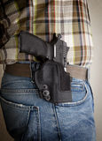 Injetor em um holster Fotografia de Stock Royalty Free