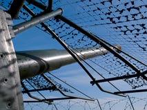 Injetor litoral do canhão da bateria de Artilery Foto de Stock