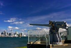 Injetor naval Auckland Fotografia de Stock