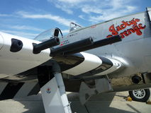 Injetores e cabina do piloto Fotografia de Stock