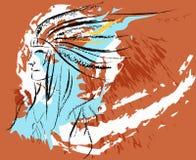 Injun Illustration Libre de Droits