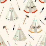 Injun pattern Stock Images
