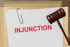 Injunction Royalty Free Stock Images