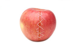 Injured apple Stock Photos