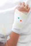 Injured arm Royalty Free Stock Image
