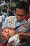 Injured baby Stock Photos