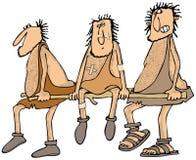 Injured caveman Stock Photos