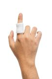 Injured finger Royalty Free Stock Image
