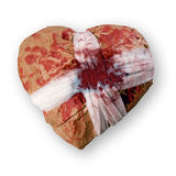 Injured heart. Stock Photo