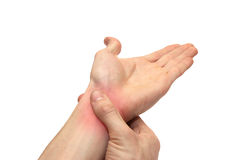 Injured joint Stock Photography