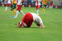 Injured player Royalty Free Stock Images