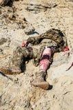 Injured ranger Royalty Free Stock Photography