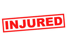 INJURED Stock Images