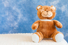 Injured Teddy Bear Stock Images