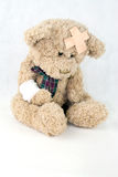 Injured Teddy Royalty Free Stock Photos