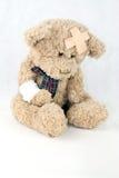 Injured Teddy Royalty Free Stock Photos