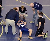 Injured Wrestler
