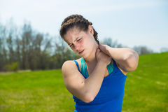 Injury at activity . Stock Photography
