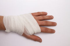 Injury Royalty Free Stock Image