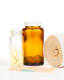Injury drugs Royalty Free Stock Photography