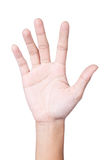 Injury hand Royalty Free Stock Image