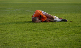 Injury sports Stock Image
